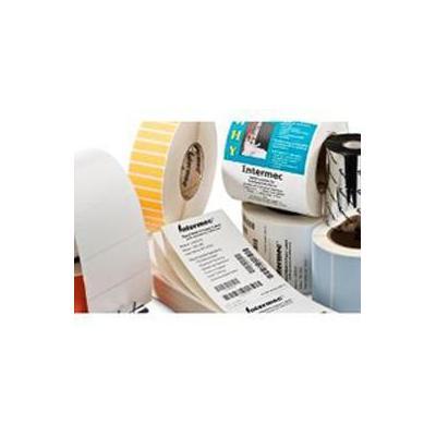 Intermec TT Uncoated Paper Etiket - Wit