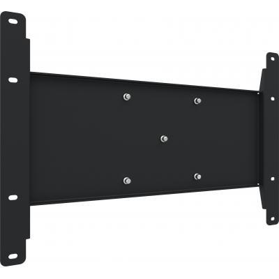 SmartMetals 80kg, metaal. zwart TV standaard