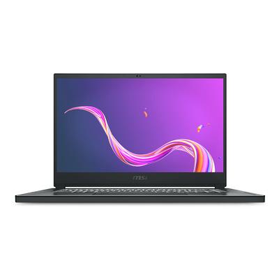 """MSI Creator 15 A10SDT-058NL 15,6"""" FHD Touch i7 16GB RAM 512GB SSD Laptop - Koolstof, Grijs"""