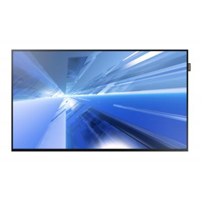 "Samsung public display: FHD Large Format Display 55"" DC55E - Zwart"