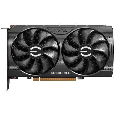EVGA GeForce RTX 3060 XC BLACK GAMING Videokaart - Zwart