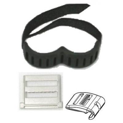 Zebra RS507 elastic strips kit, 10 Camera riem - Zwart