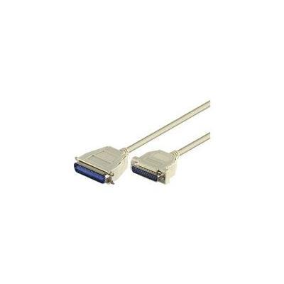 Microconnect paralelle kabel: DB25/CEN36 3m M/M - Wit
