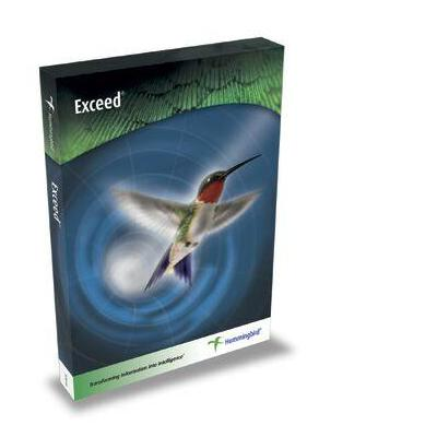 Opentext terminal emulator: Exceed 14 - Single Pack - Perpetual license met 1 jaar onderhoud  - Engels