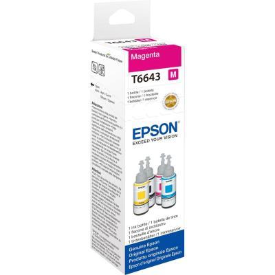 Epson inkt: T6643 - Magenta
