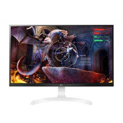 Lg monitor: 27UD69P  27IN LED 3840X2160 - Wit
