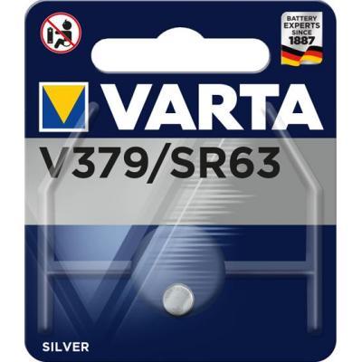 Varta batterij: -V379 - Zilver