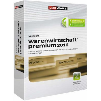 Lexware financiele analyse-software: Warenwirtschaft Premium 2017