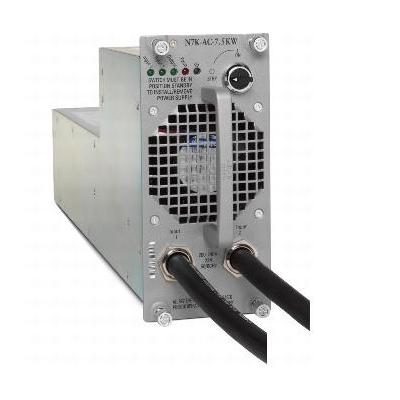 Cisco power supply unit: Nexus 7000 7.5kW AC Power Supply Module US (Cable Included) - Grijs