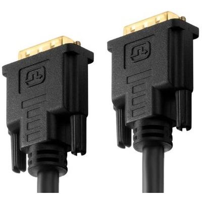 PureLink DVI-D M-M 7.5m DVI kabel  - Zwart