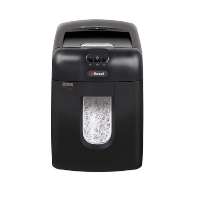 Rexel Auto+ 130X Papierversnipperaar - Zwart