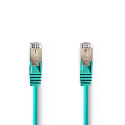 Nedis Cat 5e SF/UTP Network Cable, RJ45 Male - RJ45 Male, 2 m, Green Netwerkkabel - Groen