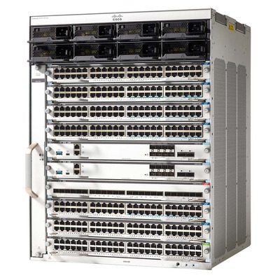 Cisco C9410R-96U-BNDL-E netwerkchassis