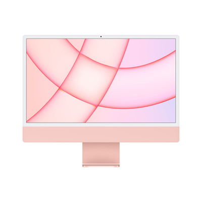 "Apple iMac 24"" (2021) 4.5K Retina Octa‑core M1 8GB 256GB SSD Pink All-in-one pc - Roze"