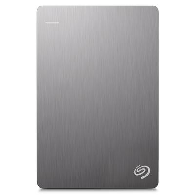 Seagate Backup Plus Slim draagbare schijf 1TB, Zilver Externe harde schijf