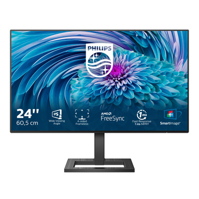 Philips E-Line Full HD LCD Monitor - Zwart