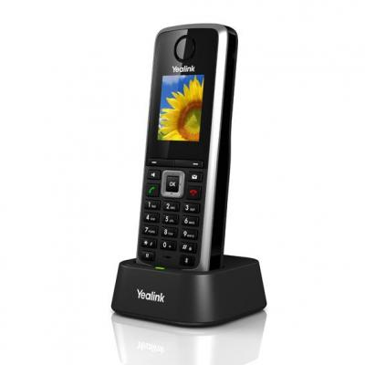Yealink IP telefoon: W52P - Zwart
