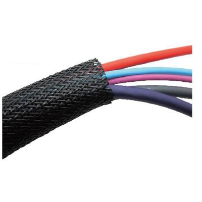 Microconnect 20mm, 50m, Polyester, Black - Zwart