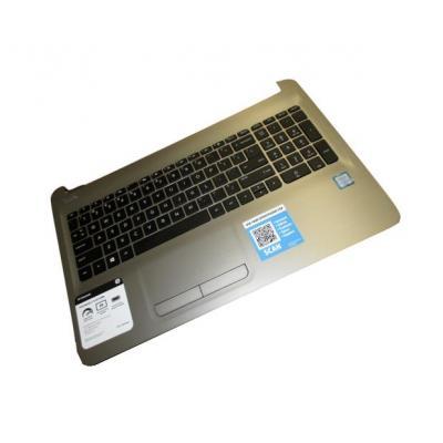 Hp Top Cover & Keyboard (Czech/Slovak) notebook reserve-onderdeel - Zwart, Zilver