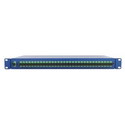 Spaun SOV 19 1/32 SC/APC Fiber optic adapter - Blauw
