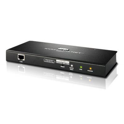 Aten POS terminal: KVM Over The Net Remote Management + virtual media - Zwart
