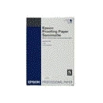Epson Proofing Paper White Semimatte Fotopapier - Wit