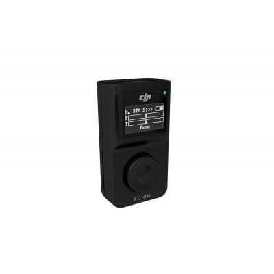 Dji : Wireless Thumb Controller for Ronin-M & Ronin-MX, OLED display, 18h, 60m, 1150 mAh LiPo, 3.7 V, 50g, black - Zwart