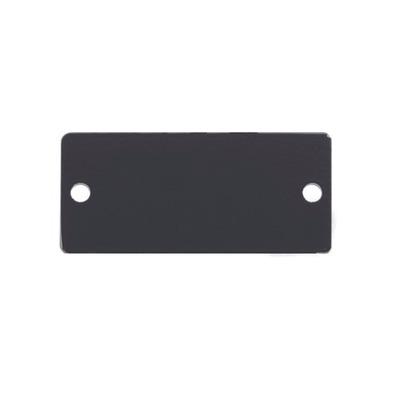 Kramer Electronics Blank Cover for Wall Plate Insert Slot - Wit
