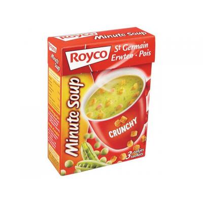Royco voedingswaar: Minute soup St.Germain+croût/ds 20