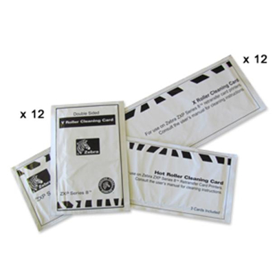 Zebra printer reininging: ZXP Series 8 Cleaning Card Kit