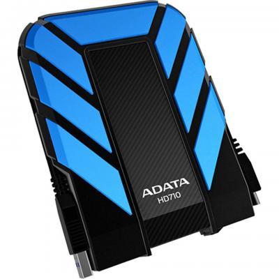 Adata externe harde schijf: 500GB DashDrive Durable HD710 - Blauw