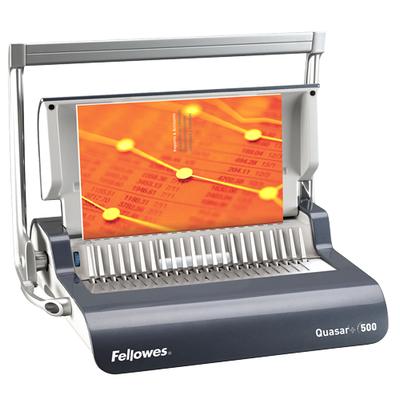 Fellowes Quasar+ 500 Inbindmachine - Houtskool,Grijs