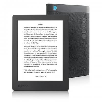 Kobo e-book reader: Aura H2O Edition 2 - Zwart