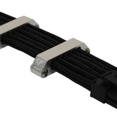 Nanoxia kabelklem: CF Cableclip CC-12 - Aluminium