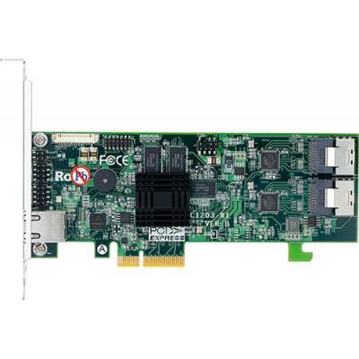 Areca ARM 1066 MHz I/O, PCIe 2.0, 0, 1, 1E, 3, 5, 6, 10, 30, 50, 60, Single, JBOD, 512 MC DDR3-1066 ECC, .....