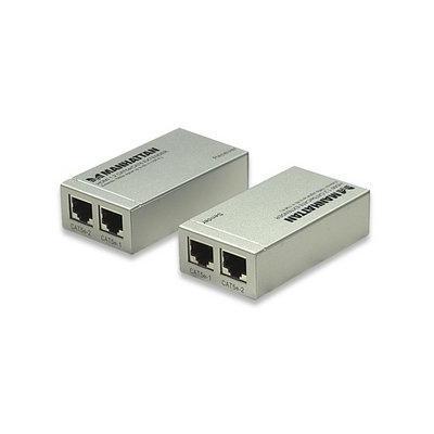 Manhattan AV extender: HDMI 1.2 Cat5e/Cat6 Extender, HDMI, RJ-45, 0.5 - 1.0 V p-p, 5 V p-p, 1920 x 1200, 1080p, HDMI .....