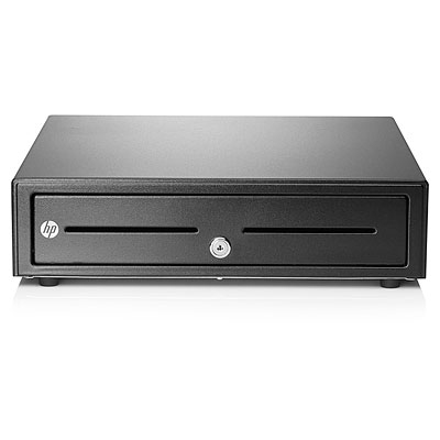 HP Standard Duty Cash Drawer - Zwart
