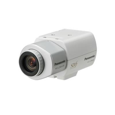 "Panasonic 650TVL, F1.4, WDR, BLC, AGC, 1.3"" CCD, 976 x 582, 170g, White Beveiligingscamera - Wit"