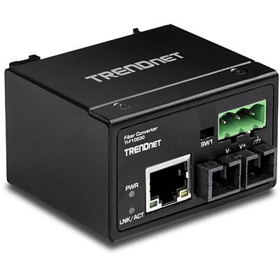 Trendnet TI-F10S30 Media converter - Zwart