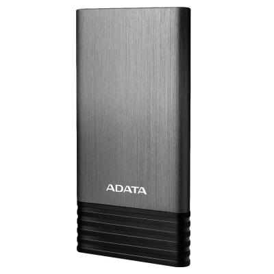 Adata powerbank: X7000 - Zwart, Titanium
