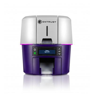 DataCard DS2 Plastic kaart printer - Grijs,Violet