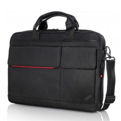 "Lenovo laptoptas: ThinkPad 14.1"" Professional Slim Topload - Zwart, Rood"