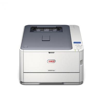 OKI laserprinter: C531dn - Wit