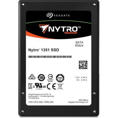 "Seagate Nytro 1351 960GB 3D TLC 2,5"" SATA SED SSD - Zwart"
