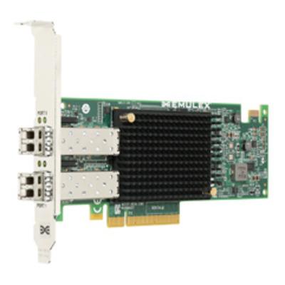 Broadcom Dual-Port, 10GBASE-SR (short reach optical) SFP+, CNA Adapter, Optics included Netwerkkaart - .....