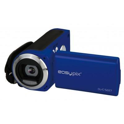 Easypix digitale videocamera: DVC5227 - Blauw
