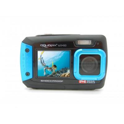 Easypix digitale camera: W1400 Active - Zwart, Blauw