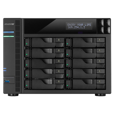 Asustor AS7010T NAS - Zwart