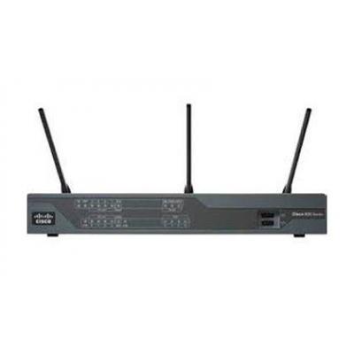 Cisco C897VA wireless router - Zwart