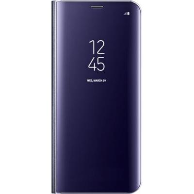 Samsung mobile phone case: Galaxy S8+ Clear View Standing Cover - Violet